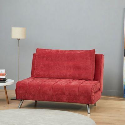 Sofacama Monaco Rojo 120x86x78cm