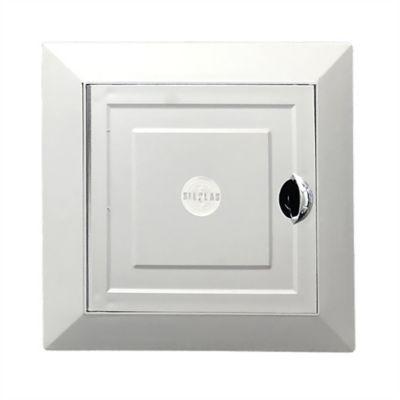 Tapa Registro Linea Silver  De 15x15  Cromo