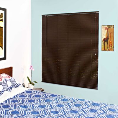 Persiana PVC 80x165 cm Chocolate