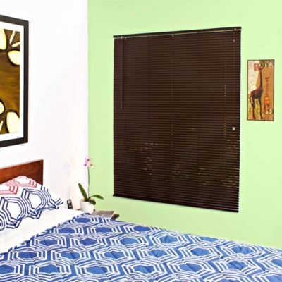 Persiana PVC 120x165 cm Chocolate