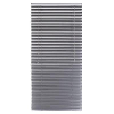 Persiana Aluminio 80x165 cm Plata