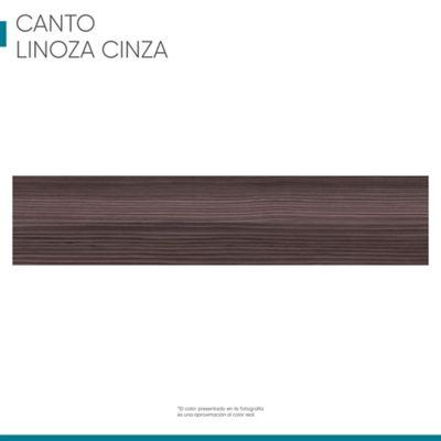 Canto rígido 22 Mm X 1 M - Linoza Cinza