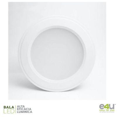 Bala de LED Integrado Dimerizable Luz Fría 1080 Lúmenes 9w Blanca