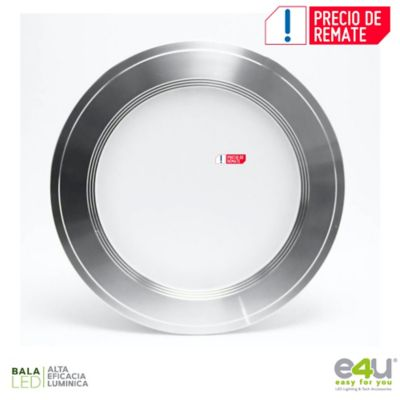 Bala de LED Integrado Luz Cálida 1080 Lúmenes 9w Satín