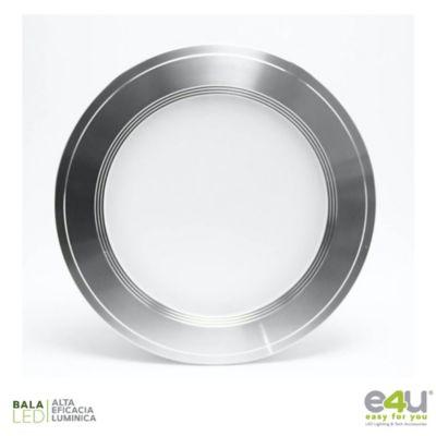Bala de LED Integrado Dimerizable 1080 Lúmenes 9w Luz Fría Satín