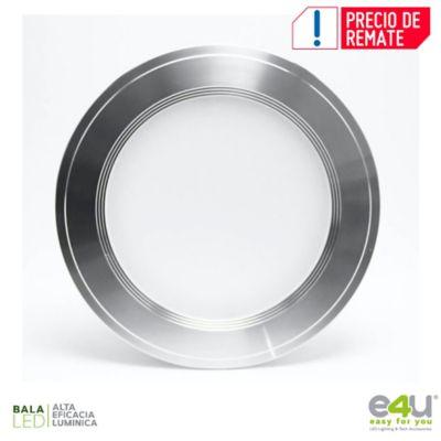 Bala de LED Integrado Dimerizable Luz Cálida 1080 Lúmenes 9w Satín
