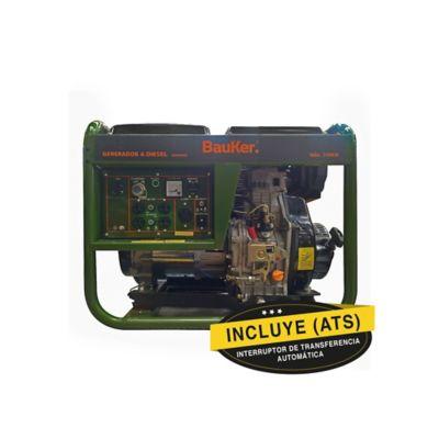Planta Eléctrica Diesel 5.5Kw 5.500W 110/220V 11.5Lt