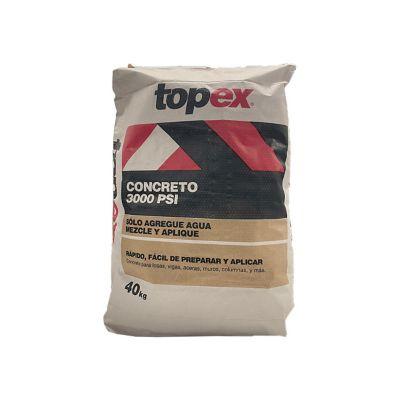 Concreto Seco Topex 3000PSI 40kg