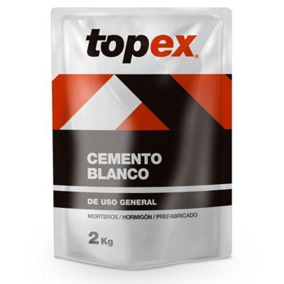 Cemento Topex Blanco 2kg