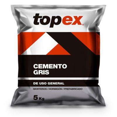 Cemento Topex Gris 5kg