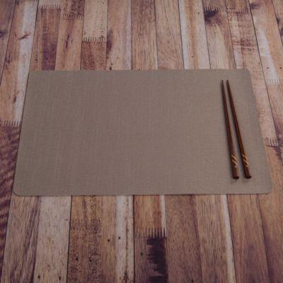 Individual PVC Relieve Beige 43.5x28.5cm