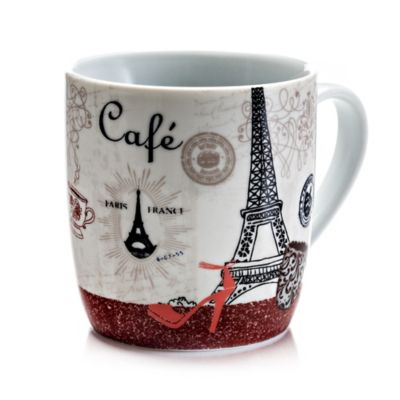 Mug 13 oz Paris Porcelana