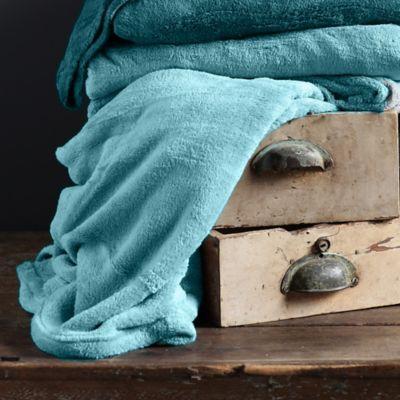 Cobija Flannel 100x150 cm Turquesa