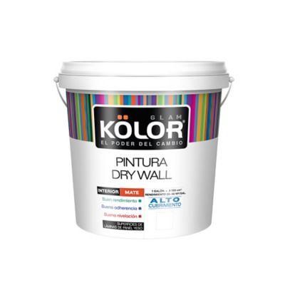 Pintura para Interior Drywall Blanco 1 Galón