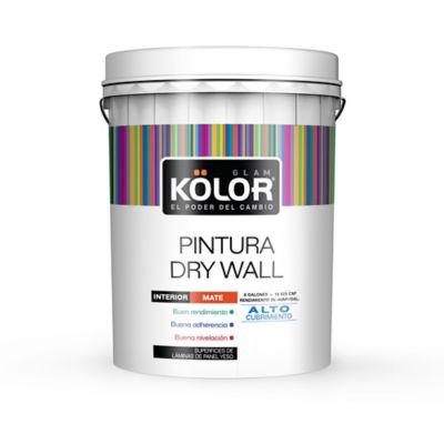 Pintura para Interior Drywall Blanco 5 Galones