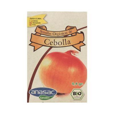 Semilla Orgánica Cebolla 0.4 gr
