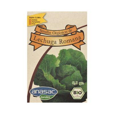 Semilla Orgánica Lechuga Romana 0.1 gr