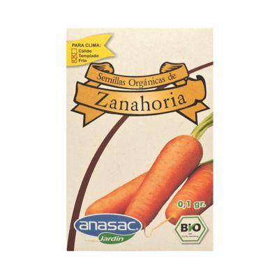 Semilla Orgánica Zanahoria 0.1 gr