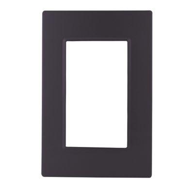 Placa Negro Satinado Sin Bastidor Quadra