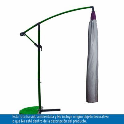 Protector De Parasol Lateral Gris 185Cm Gris