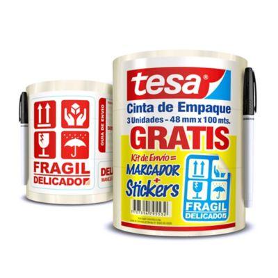 Ofe 3 C.Empaque 100M x 48mm Gratis Sticker+Marcador