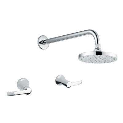 Grifería ducha mezclador sin salida bañera Vaal