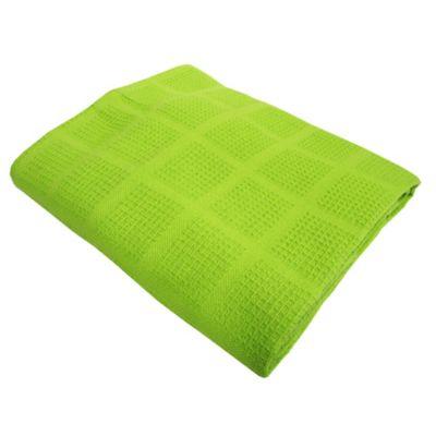 Sobrecama Pique Doble  220x230 cm Verde