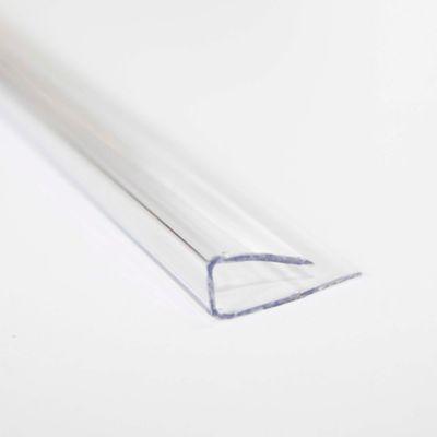 Perfil U 4mm 2.10m Cristal Policarbonato