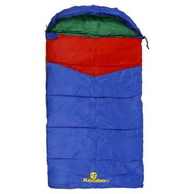 Saco de Dormir Infantil Azul