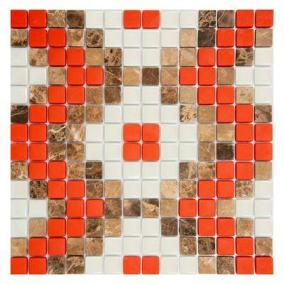 Mosaico Puntos Collage Rinascimento 30X30cm