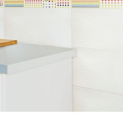 Pared Cerámica Arcoíris Blanco 25x43.2 cm caja 1.29 m2