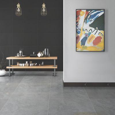 Pared Cerámica Arcoíris Negro 25x43.2 cm caja 1.29 m2