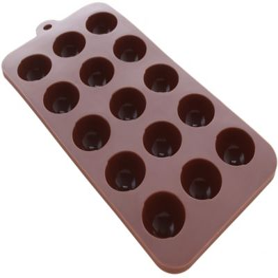 Molde En Silicona Para Trufas De Chocolate