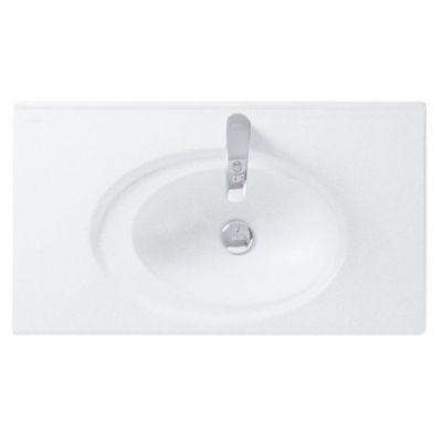 Lavamanos Orbis 80 Con desagüe Blanco