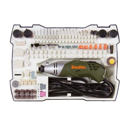 Kit Mototool 170W 8'000-32'000Rpm + 152 Accesorios Bauker