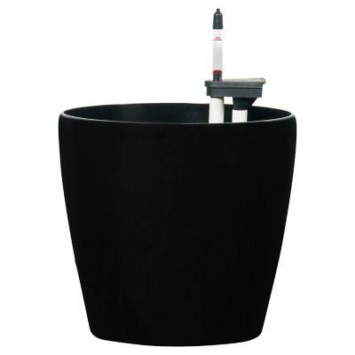 Macetero Autorregante Rosso Negro D32/H30 cm