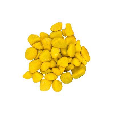 Piedra Decorativa 1 Kg Amarillo