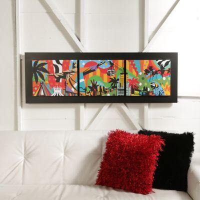 Cuadro Decorativo Tribeka 120x40 cm Color Surtido
