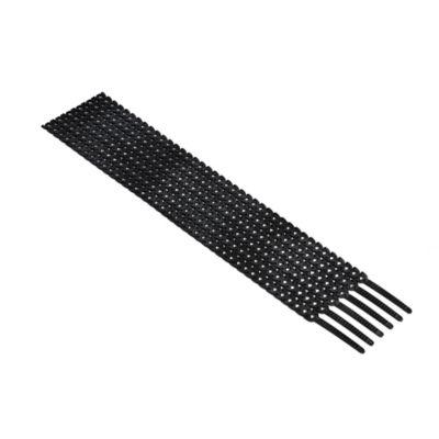 Amarre Rapstrap Paquete 24 Unidades Negro (300x10mm)