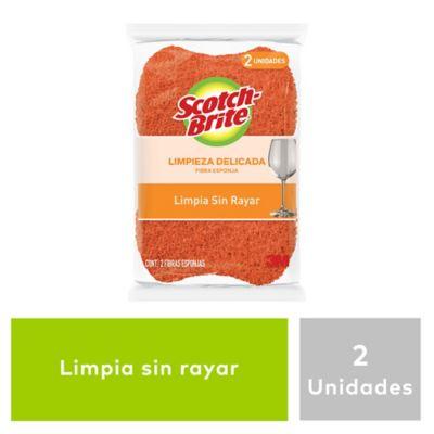 ESPONJILLA SCOTCHBRITE CERO RAYAS X2 COC