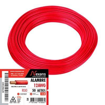 25mm2 170 amperios una batería de PVC flexible Cable de Soldadura Rojo 50M 50 m Rollo Coche Auto