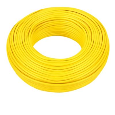 Cable #8 100m Amarillo