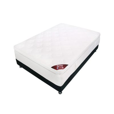 Combo Colchón Comfort 1 Box 100x190cm + Base Salim
