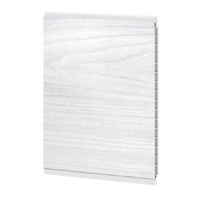 Cieloraso pvc, lámina de 3m2 catedral gris claro, lámina de 3m x 25cm, Paq x 4 láminas