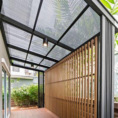 Lámina Alveolar 6mm 5.90X2.10mt Gris