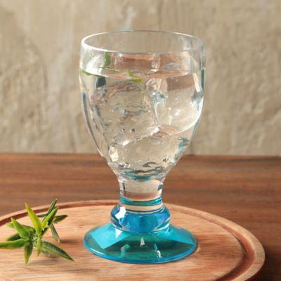 Copa para Agua Acrílica Azul