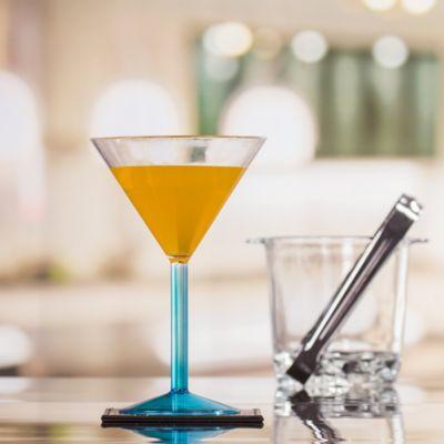 Copa para Martini Acrílica Azul