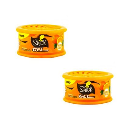 Ambientador Gel Citrus 80grs Duo Pack