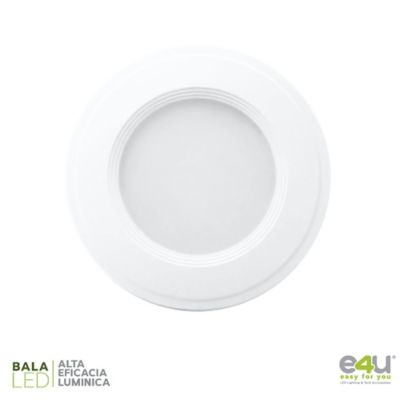 Bala de LED Integrado Luz Fría  360 Lúmenes 3w Blanca
