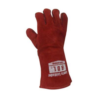 Guante Soldador Rojo 14pulg Kevlar